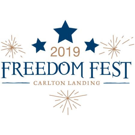 Freedom Fest Carlton Landing logo