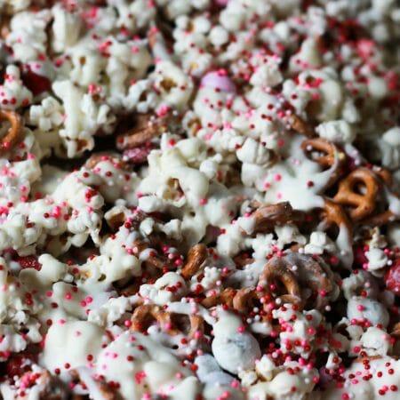 Valentine's Day Popcorn Mix