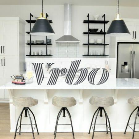 Vrbo in a kitchen