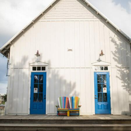 two door school house