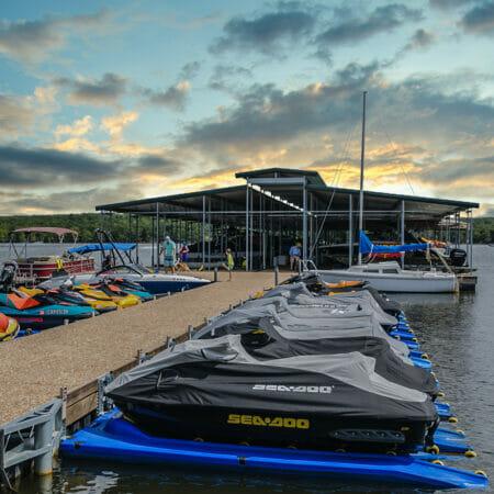 Boats at Carlton Landing