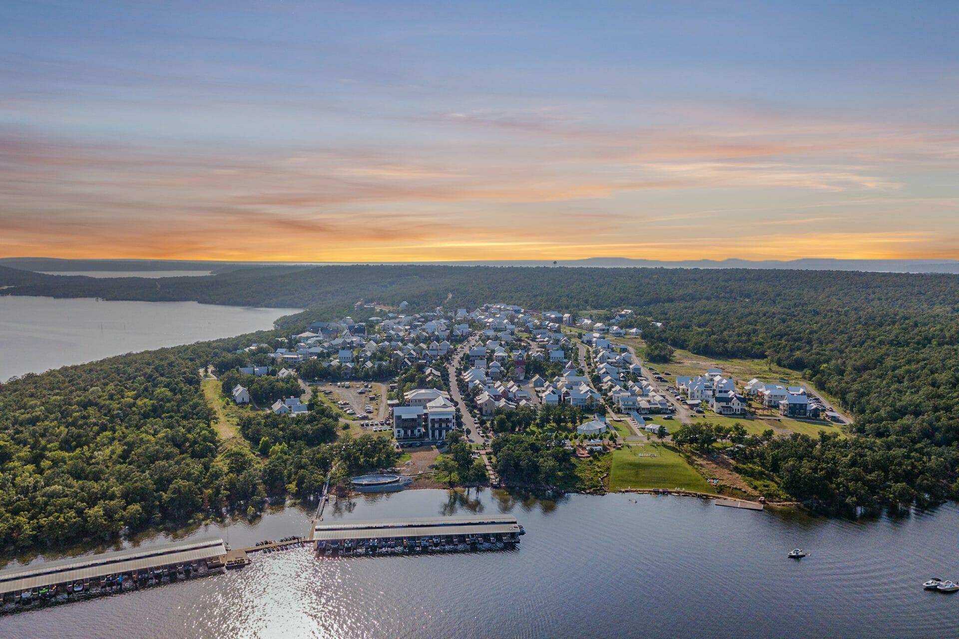 Carlton Landing Drone View