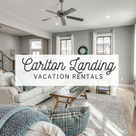 Carlton Landing Vacation Rentals Button